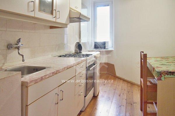 Pronájem bytu 2+1 s balkonem, Brno-střed, ul. Příkop, UP 50m²