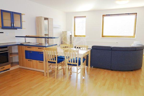Pronájem Bytu 2+kk, 76 m² + terasa + parkování v domě,- Brno - Soběšice, Na Kovárně