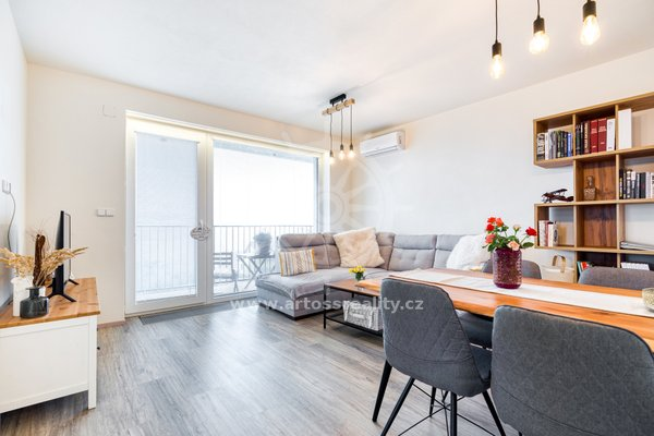Prodej novostavby bytu 2+kk s balkonem CP 64 m2
