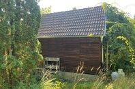 Pronájem rozlehlé zahrady 918 m2 s chatou v Lelekovicích