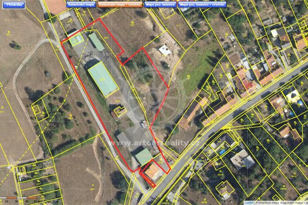 Prodej areálu ke komerčnímu využití, plocha 8.330 m2, Kanice, Brno - venkov
