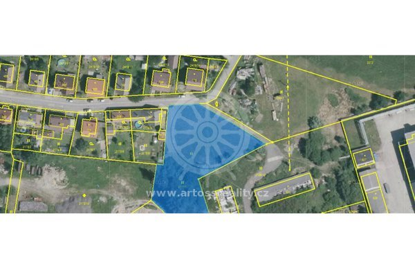 Prodej pozemku 3528m² - obec Studená /okres Jindřichův Hradec, Jihočeský kraj/, při ulici Palackého