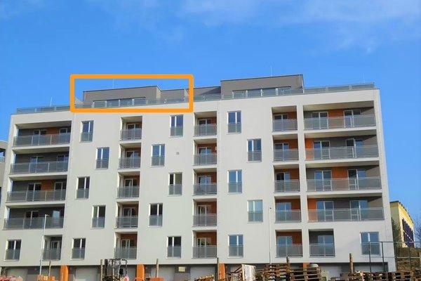 Pronájem luxusního bytu 2+kk, ulice Nad Čertovkou, CP 95 m² - Blansko