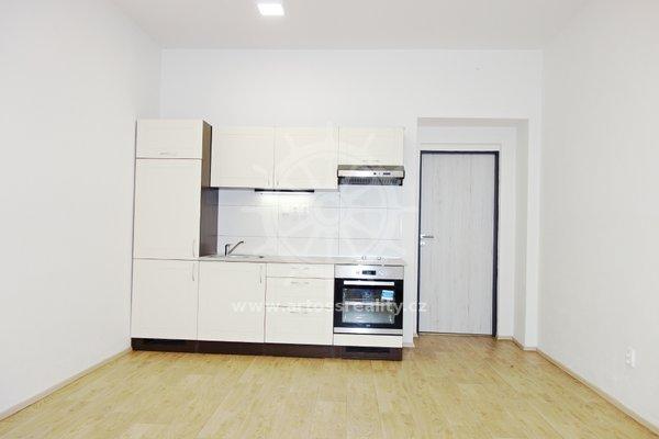 (405A) Pronájem novostavby vybaveného bytu 1+kk, 32m², Brno - Zábrdovice, ul. Bratislavská