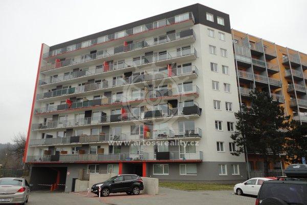 Pronájem novostavby bytu 1+kk s balkonem, ulice Božetěchova, Brno-Královo Pole, CP 44m2