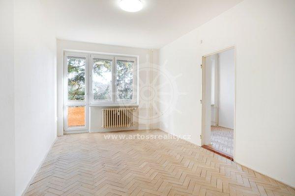 Prodej Bytu 3+1, CP 67m² + balkon, Brno - Maloměřice, ul. Dolnopolní