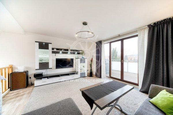 Prodej mezonetového bytu 2+kk, 62m² + terasa 11 m2, ul. Marešova, Brno - Veveří