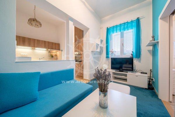 Prodej bytu v OV , 2+1 se zahrádkou, Charbulova, Brno-Černovice, CP 29,51m2