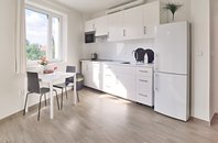 Pronájem bytu 2+kk s balkonem, Brno-St. Lískovec, ul. Malostranská, UP 40 m²