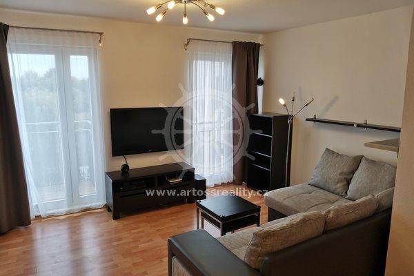 Pronájem, byt 2+kk, celková plocha 51m² - Brno - Dolní Heršpice, ulice Vomáčkova, balkon, přímo u cyklostezky