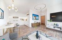 Prodej novostavby bytu 2+kk s balkonem + parkovací stání, Bučovice, okres Vyškov CP 60,1m2
