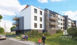Prodej bytu 1+kk, 39,3 m², velká lodžie, Rezidence Střelice