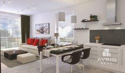 Prodej bytu 3+kk, 101,7 m², dvě terasy, předzahrádka, Střelice