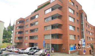 Pronájem bytu 4+kk, Brno - město, novostavba, balkón, vyhrazené parkovací stání, ulice Leitnerova