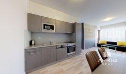 Prodej bytu 2+kk, 60,7 m² s terasou 6m² - Brno-Slatina, Zelené Město, s možnou úpravou dispozice na 3+kk