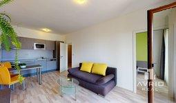 Prodej bytu 2+kk, 60 m², balkón, sklep a parkovacího místo v ceně - Brno-Slatina, Zelené Město