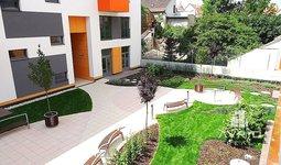 Pronájem pěkného bytu 2+kk, Brno - Královo Pole, novostavba, balkón, sklep, garážové stání, ulice Mojmírovo náměstí, Park Rezidence
