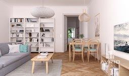 Prostorný ateliér 2+kk, 43 m² - Brno - Veveří