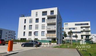 Pronájem krásného bytu 1+kk, Brno - Královo Pole Sadová, novostavba, terasa, ulice Karla Kryla