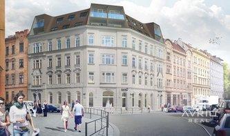 Jedinečný byt 2+kk, 70 m² - Brno - Veveří