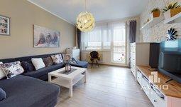 Prodej bytu 3+1, 71 m², zasklená lodžie, sklep - Brno-Bohunice