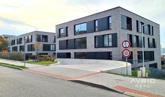 Pronájem nového bytu 3+kk, Brno Pisárky, lodžie, novostavba, garáž, ulice Neumannova
