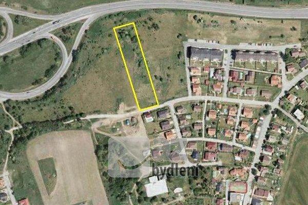 Prodej stavebního pozemku 5500 m²Tábor, Svatá Anna