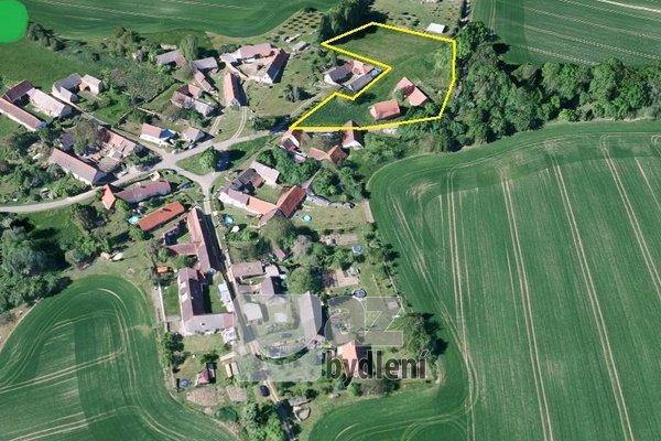 Prodej zemědělského objektu - pozemek celkem 6 510 m2, Bendovo Záhoří, okres Tábor