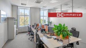 Pronájem, reprezentativní kanceláře v centru města, 500m²