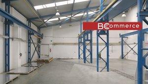 Pronájem skladově výrobní haly s kancelářským zázemím Brno - Královo Pole