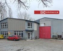 Pronájem skladové haly s administrativní budovou a prodejnou