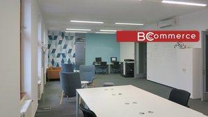 Klimatizovaná kancelářská jednotka s vlastním zázemím, 128m²