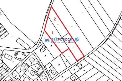 Prodej, Pozemky pro bydlení, 6380m² - Přibyslav, Ev.č.: 102-00168