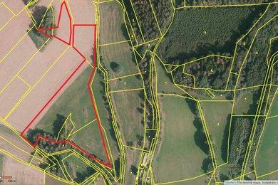 Prodej souboru pozemků - pole, louky o celkové výměře 19.812 m2, Ev.č.: 101-00169