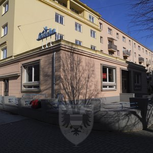 Pronájem, Restaurace, 457,5 m² - Brno - Veveří - Zahradníkova 9