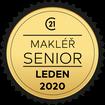 Makléř měsíce Senior leden 2020