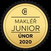 Makléř měsíce Junior únor 2020