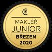 Makléř měsíce Junior březen 2020