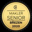 Makléř měsíce Senior březen 2020