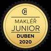 Makléř měsíce Junior duben 2020