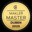 Makléř měsíce Master duben 2020