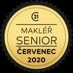 Makléř měsíce Senior červenec 2020