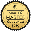 Makléř měsíce Master červenec 2020