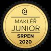 Makléř měsíce Junior srpen 2020