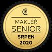 Makléř měsíce Senior srpen 2020