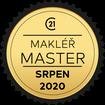 Makléř měsíce Master srpen 2020