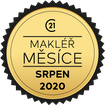 Makléř měsíce srpen 2020