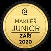 Makléř měsíce Junior září 2020