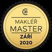 Makléř měsíce Master září 2020