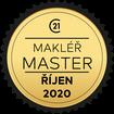 Makléř měsíce Master říjen 2020